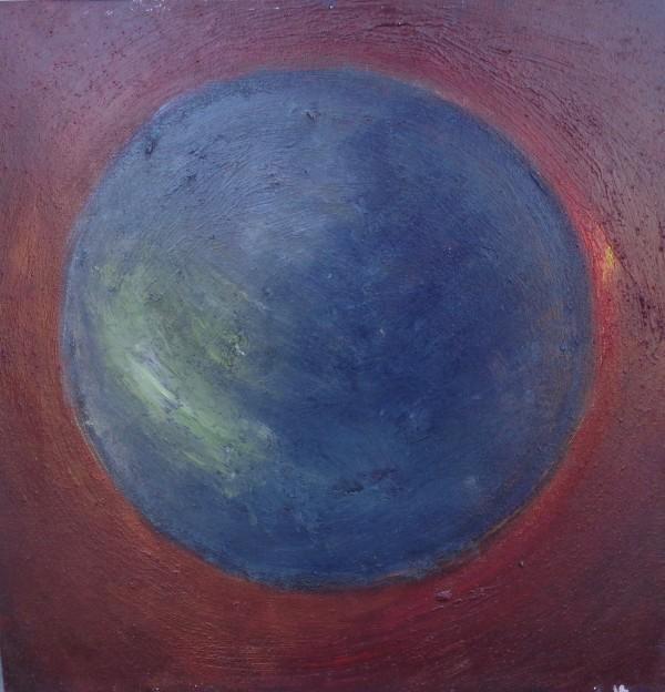 1103 Gray Planet Red by Judy Gittelsohn