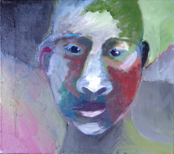 1223 Earthen Head by Judy Gittelsohn