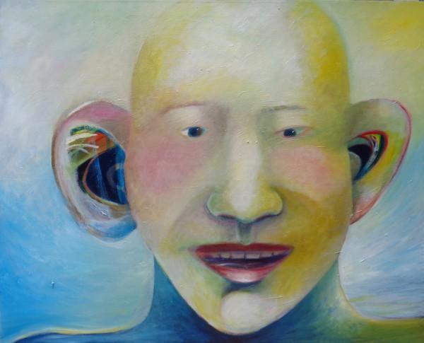 1231 Yellow Head by Judy Gittelsohn