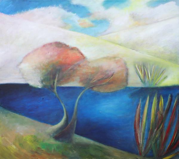 1219 Hills Trees Lake by Judy Gittelsohn