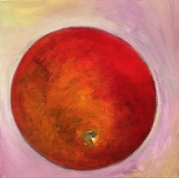1257 Orange With Pink by Judy Gittelsohn