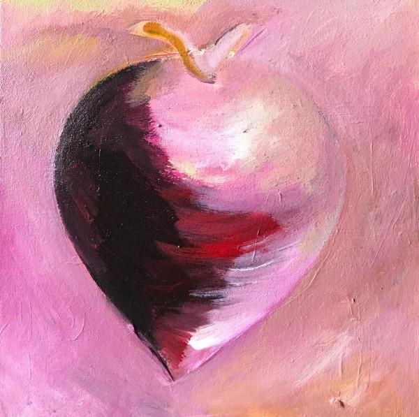1256 Pink Radish by Judy Gittelsohn