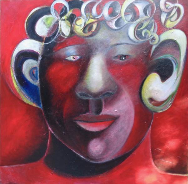 1229 Red Head by Judy Gittelsohn