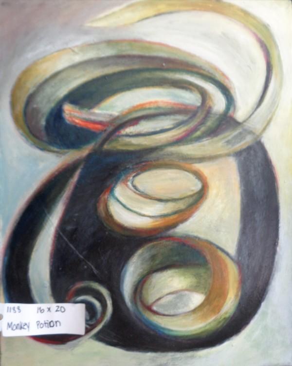 1188 Monkey Potion  by Judy Gittelsohn