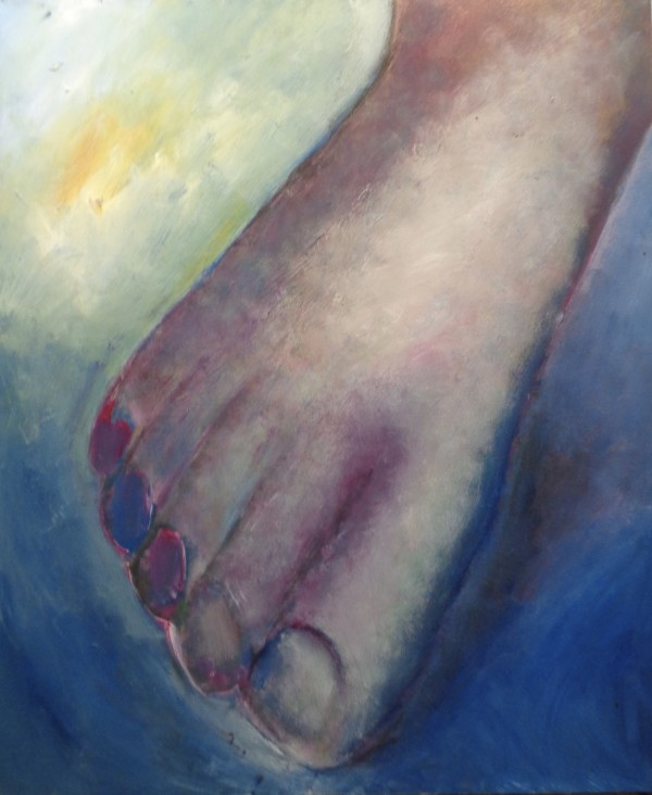 1214 Right Foot by Judy Gittelsohn