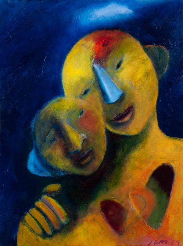 1074 Mother and Child  by Judy Gittelsohn