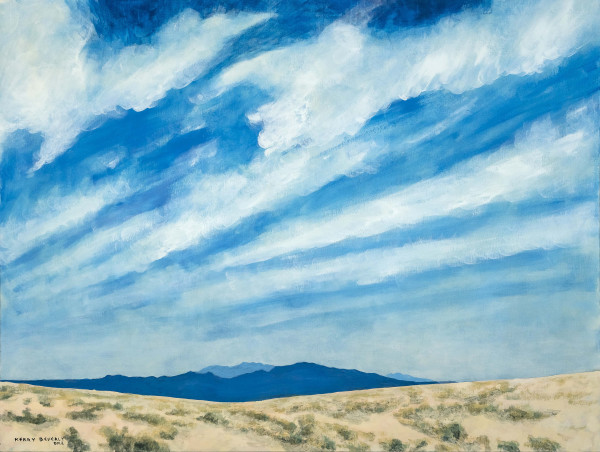 Pacific Ocean Clouds by Kerry Beverly
