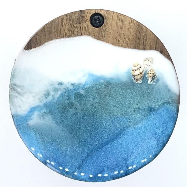 *Custom Order*  Ocean Resin Box by S.J. Dopheide