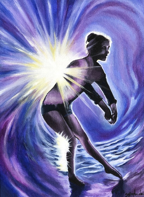 Starlit Dancer by Stevie J. Dopheide