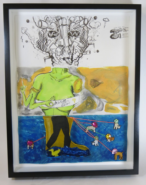 Untitled (Exquisite Corpse) by Collaboration