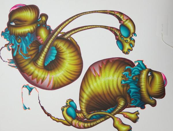 Panoptic Liger XIV by Michael Ogilvie