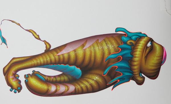 Panoptic Liger XV by Michael Ogilvie