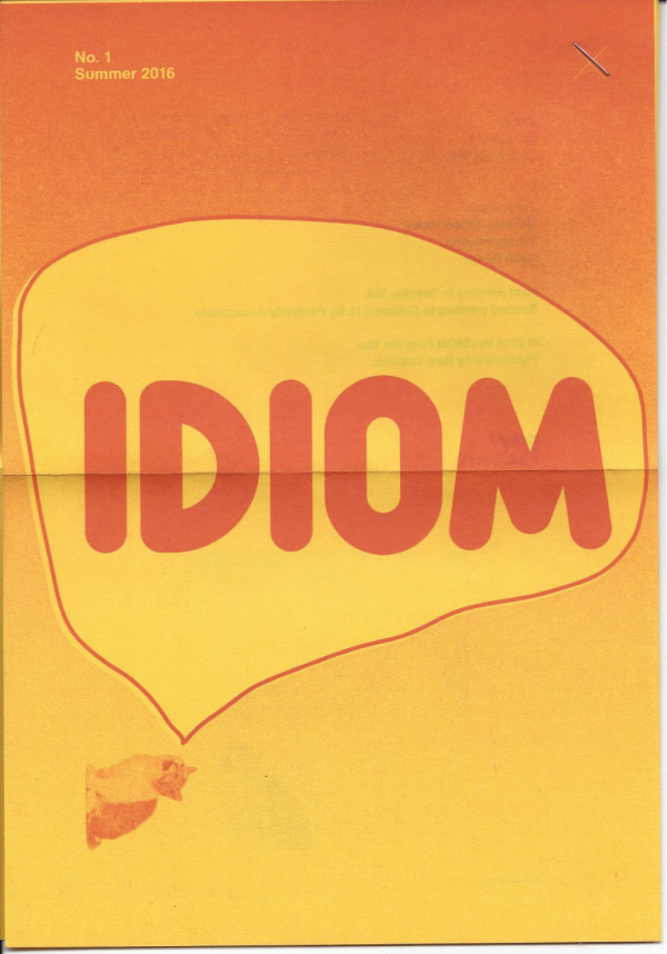 IDIOM #1 by Jayme Yen
