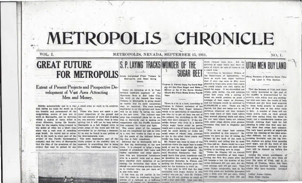Selected Covers of the Metropolis Chronicle by Kristin Posehn