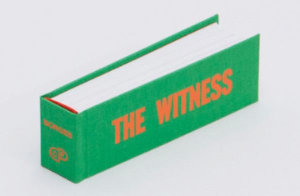 THE WITNESS by Ben Denzer