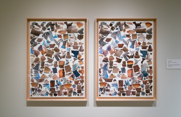 Fragments from Las Vegas (diptych) by Julieta Gil