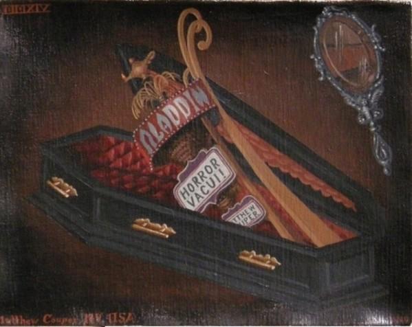 Horror Vacui! (Aladdin) by Matthew Couper