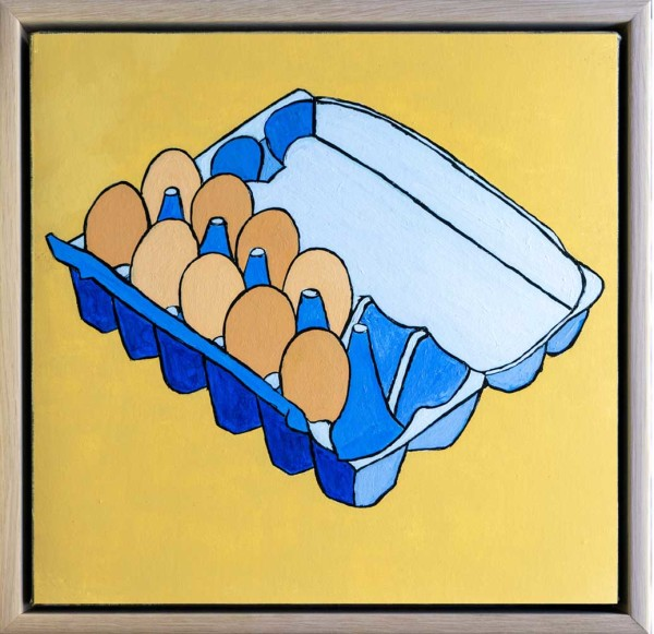 Free-Range Organic Eggs by Steve Munro