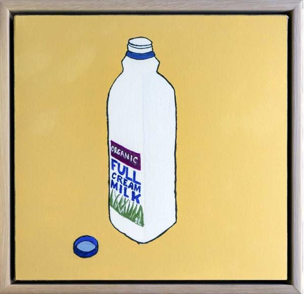 Full Cream Organic Milk by Steve Munro