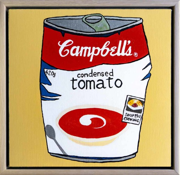 Lunch, ruined - Campbell's Soup by Steve Munro