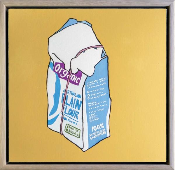 Organic Australian Flour by Steve Munro