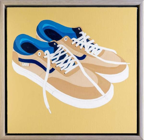 Shoes, after Vincent (or, Vincent's Vans) by Steve Munro