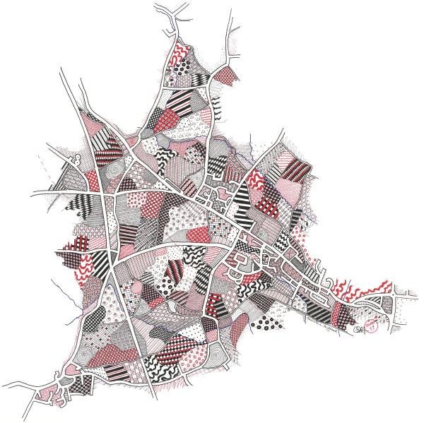 HIG009, Hildenborough by Christine Highland - Maps