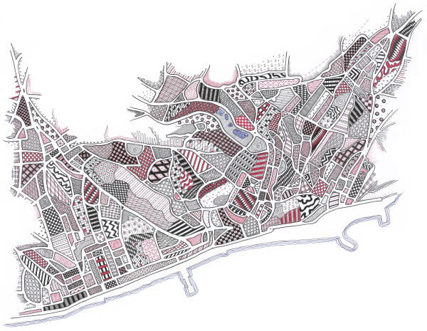 HIG079, Hastings by Christine Highland - Maps