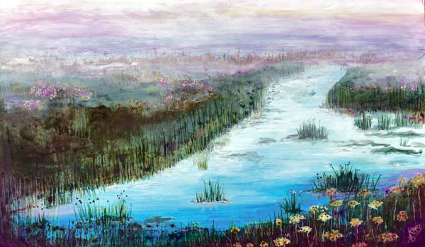 MCD178, Misty Morning by Ruth McDonald