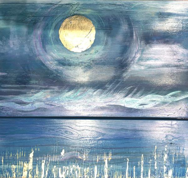 MCD181, Golden Reflections by Ruth McDonald