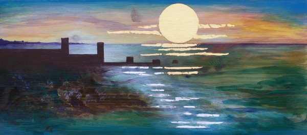 MCD183, Winter Sunset by Ruth McDonald