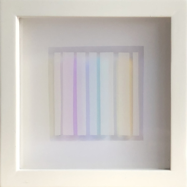 PAX218, Colour Stripes IV by Hildegard Pax