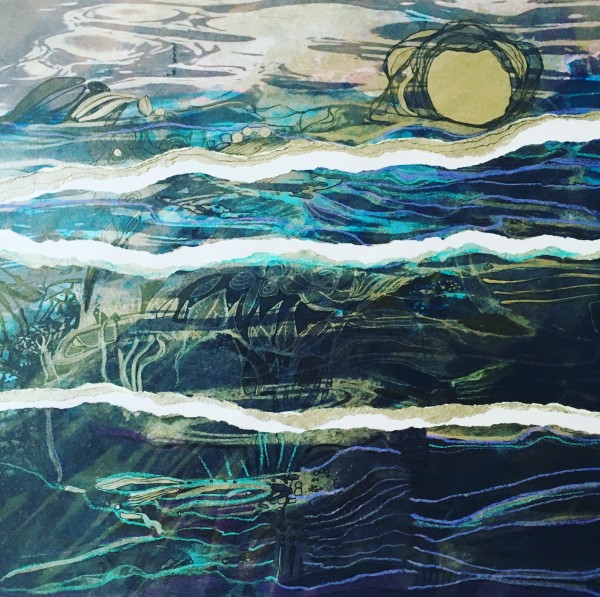 MCD147, Moonlit Water by Ruth McDonald