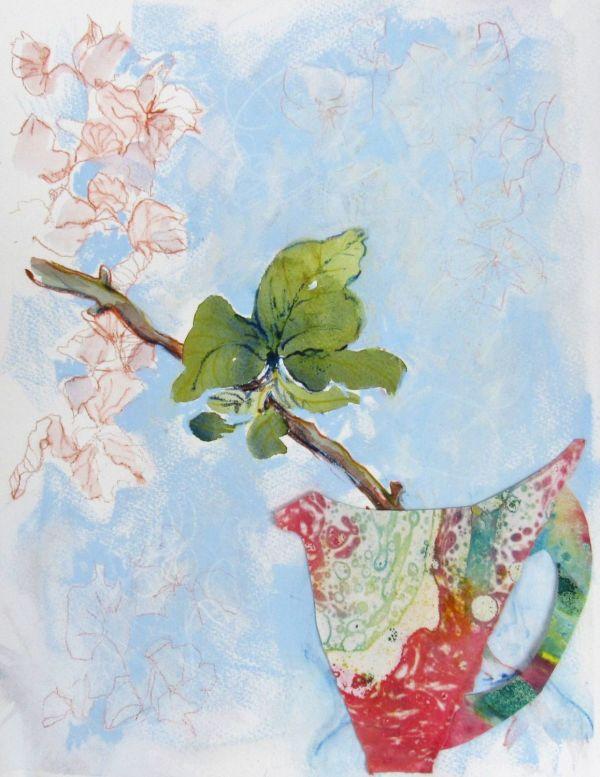 DEM206,  Spring Hydrangea by Sarah De Mattos