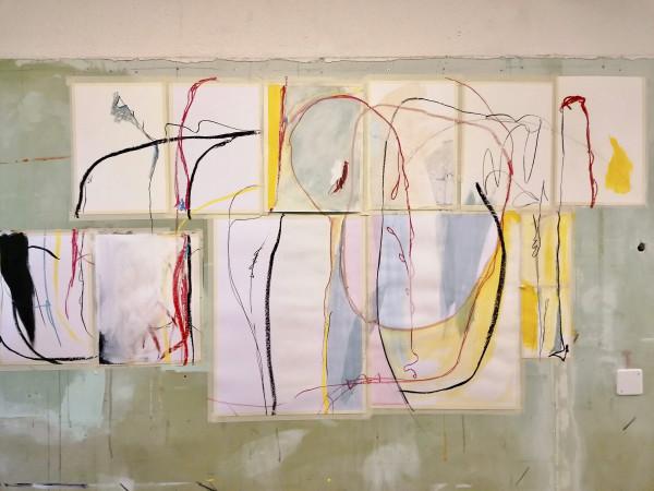 Wall Julio 7 by Alejandra Jean-Mairet