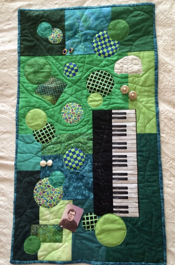 Any Color's All Right As Long As It's Green (for Lucille) by Hilary Clark