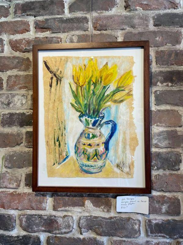 Ah Tulips! by Tina Rawson