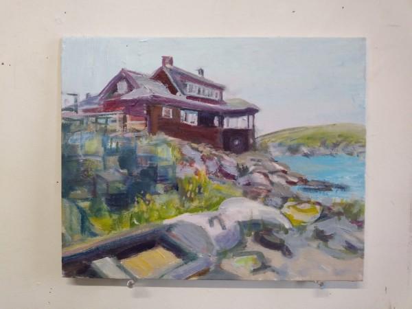 Monhegan House by Tina Rawson