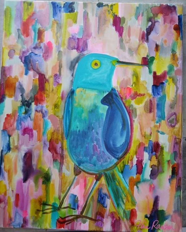 Blue Bird by Tina Rawson