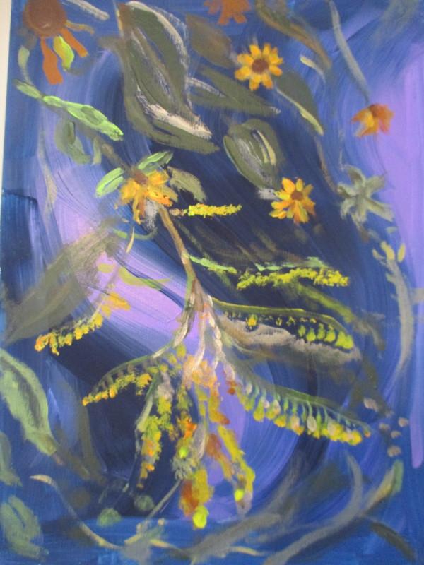 A Tangle by Tina Rawson