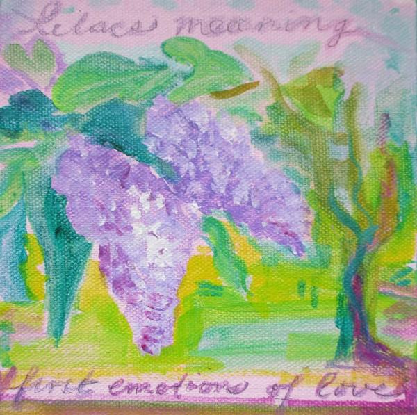 Hanakotoba: Lilacs by Tina Rawson