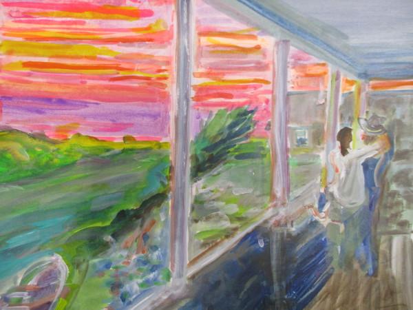 Sakonnet Sunset by Tina Rawson