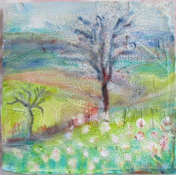 Crackle Trees by Tina Rawson