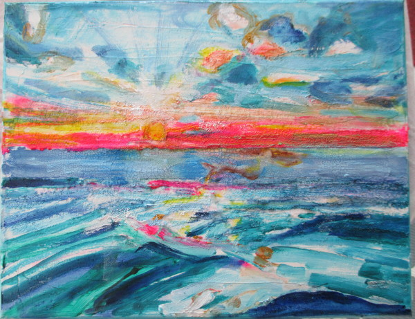 Mermaid Sea by Tina Rawson