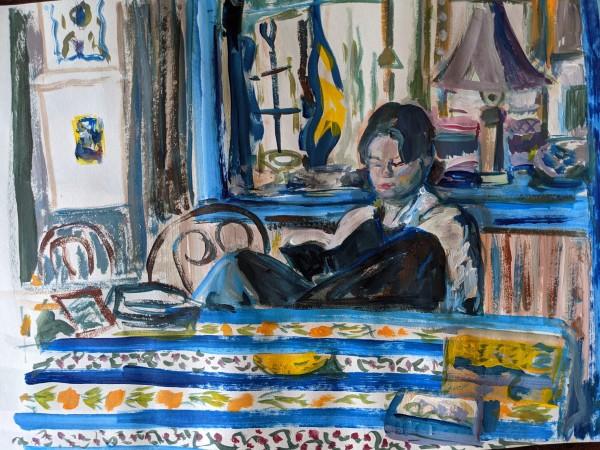 Kajsa at Christorp by Tina Rawson