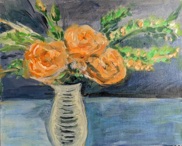 Orange Blossoms by Tina Rawson