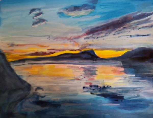 Swedish Sunset by Tina Rawson