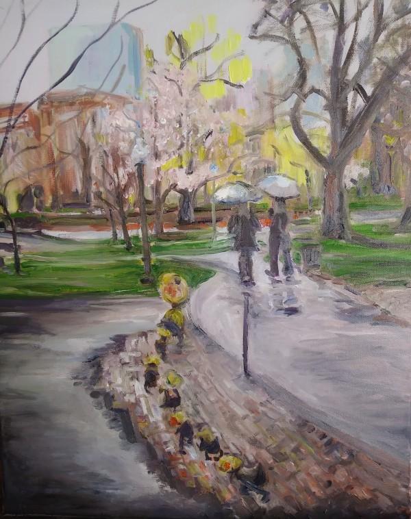 The Duck Parade by Tina Rawson