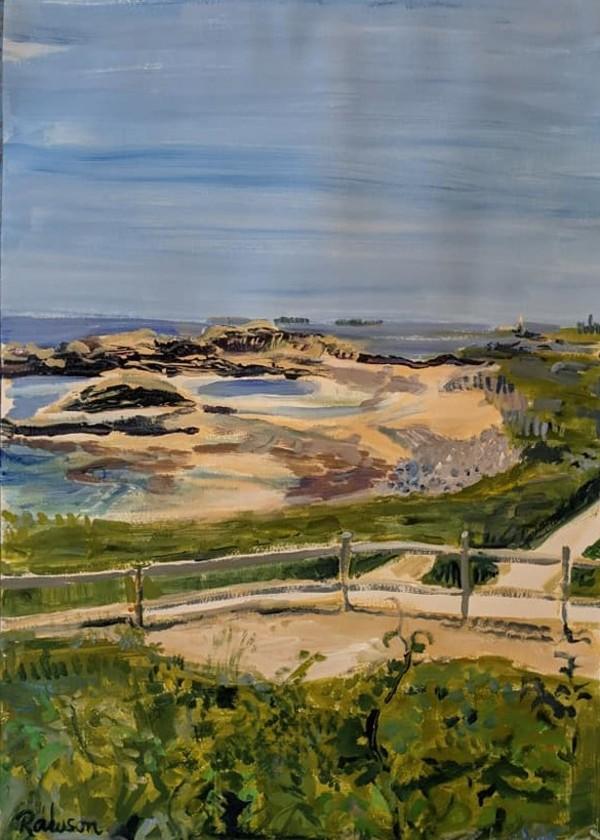 Warren's Beach Shimmer by Tina Rawson