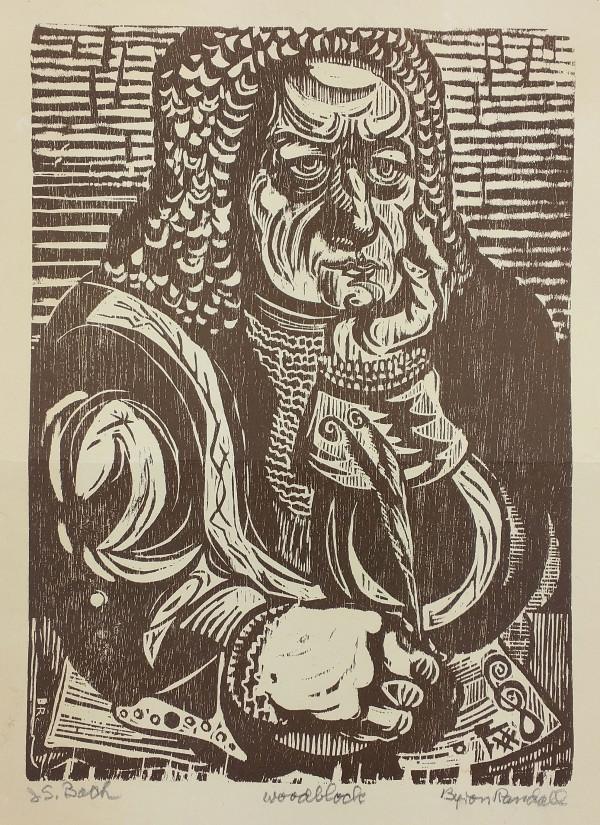 J. S. Bach by Byron Randall